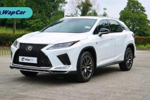 Ringkasan: Lexus RX 300 2019 - Suspensi udara tidak diperlukan