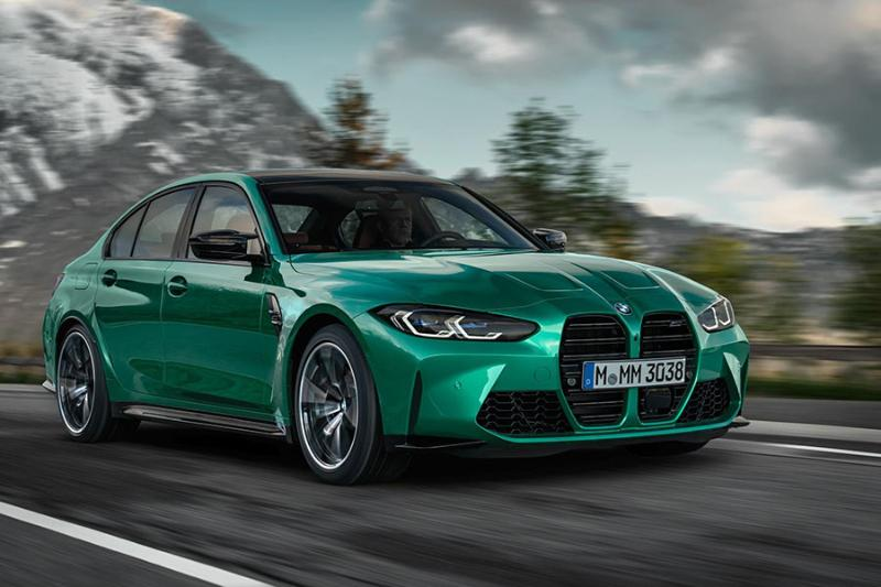 Leaked: Not for the faint-hearted, here are the 2021 BMW M3 and M4 02