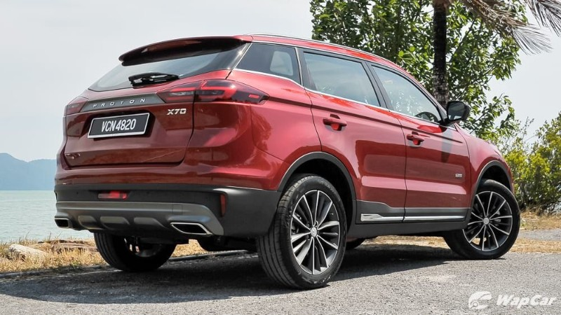 How much does Proton X70's 19-inch tyres cost? 02