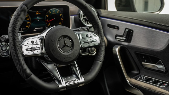 2020 Mercedes-Benz AMG A-Class A35 4MATIC Interior 007