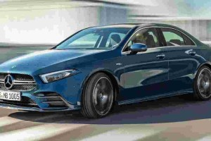 The 2019 Mercedes-AMG A35 Sedan takes centre stage to an exclusive audience