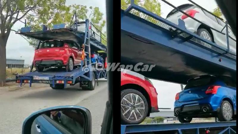 Spyshot: Suzuki Swift Sport 2021 - pelancaran Suzuki Malaysia semakin dekat? 02