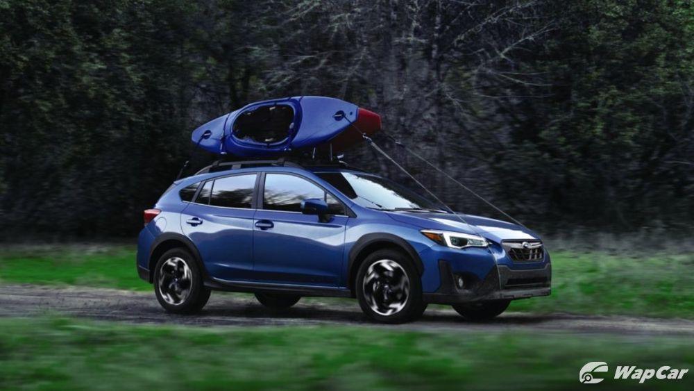 Subaru Crosstrek Limited shown