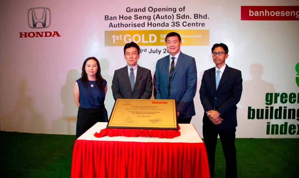 Honda's 3S Centre in Perak is Malaysia's first Gold-Rated Green Building Index car showroom 01