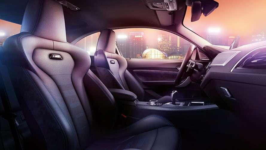 BMW M2 Coupe (2019) Interior 002