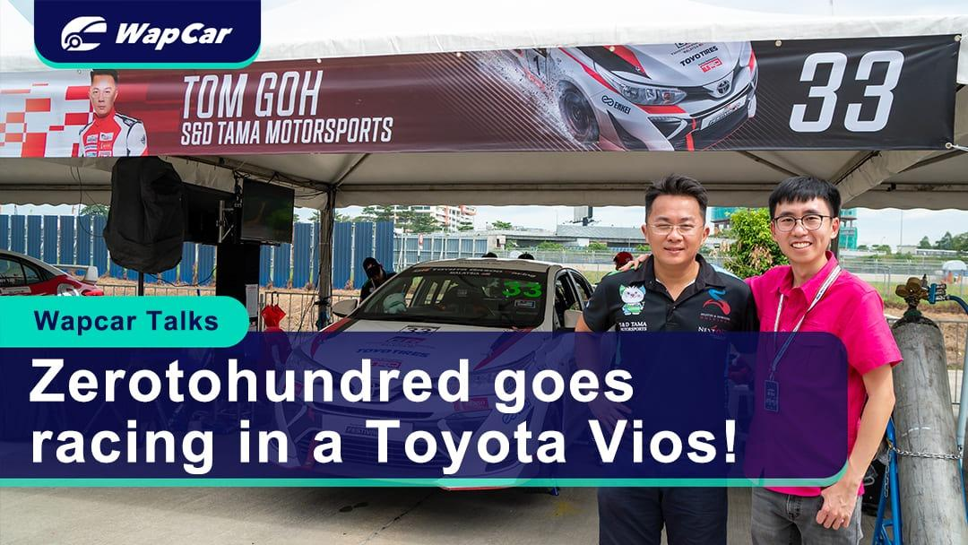 Video: Why is Zerotohundred racing in a Toyota Vios?! 01