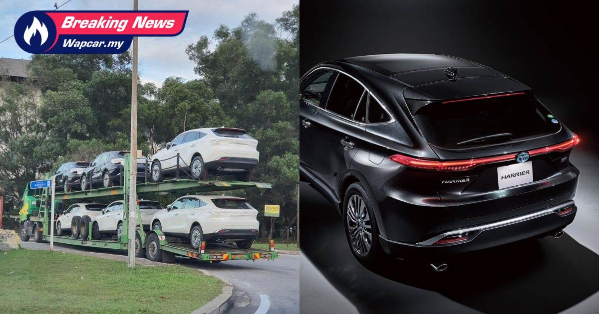 Spied: All-new 2021 Toyota Harrier has arrived in Malaysia, launch imminent 01