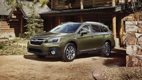 Subaru Outback (2018) Exterior 001