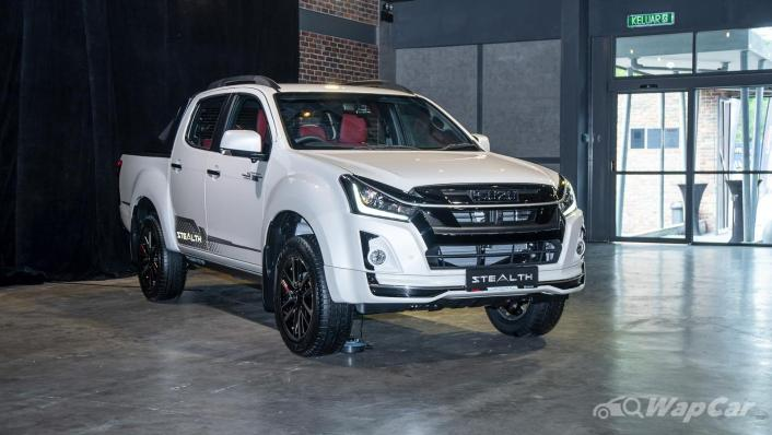2020 Isuzu D-Max Stealth 1.9L 4×4 AT Exterior 001