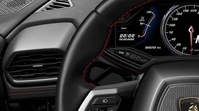 Lamborghini Huracán (2019) Interior 004