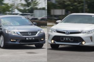 Toyota Camry vs Honda Accord: Which D-sedan has better resale value?