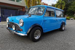 Barang Rare: Bukan sebarang Mini klasik, ini Austin Mini Wagon untuk dijual!