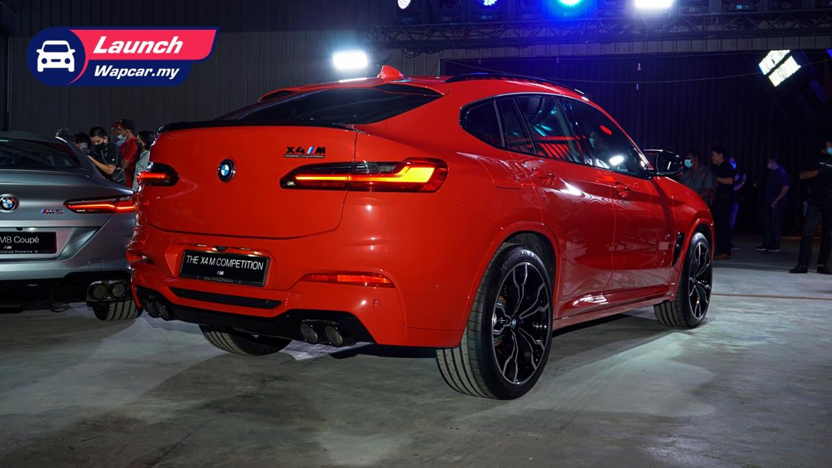 2020 (F98) BMW X4 M Competition launched in Malaysia, 510 PS/600 Nm, from RM 904k 01