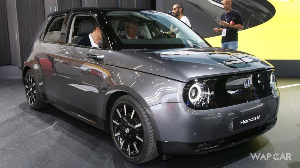 Frankfurt 2019: Production Honda e debuts, along with 'Ok Honda' AI assistant  01