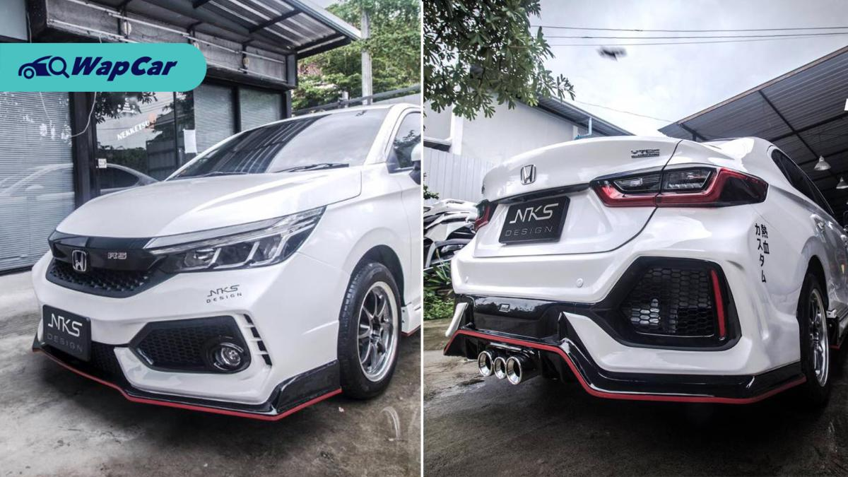 Honda City RS tak cukup garang? Masuklah kit badan Civic Type R! 01