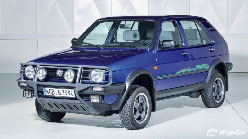 Mk8 Volkswagen Golf Country – a jacked up 4WD Golf 02