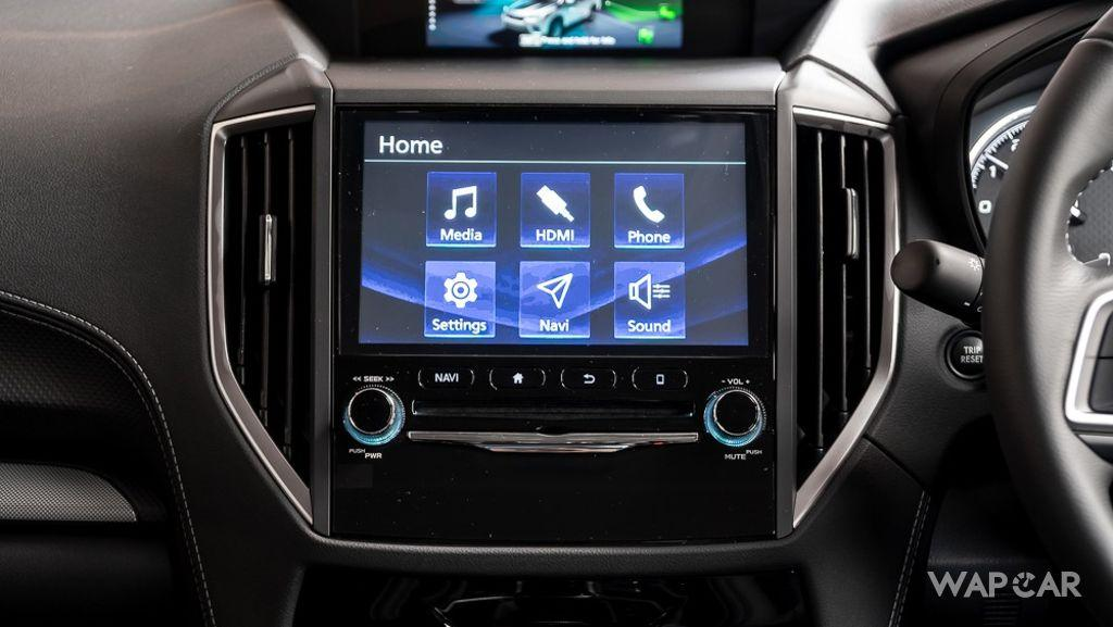Subaru Forester (2019) Interior 007