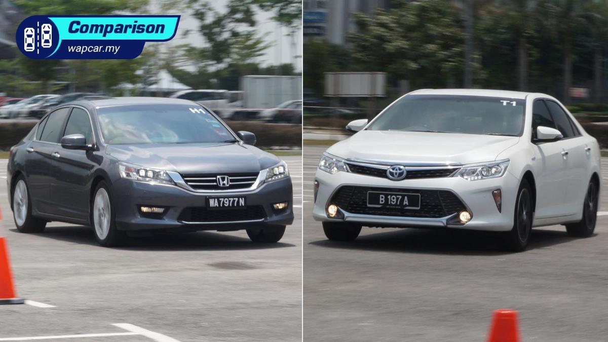 Toyota Camry vs Honda Accord: Which D-sedan has better resale value? 01