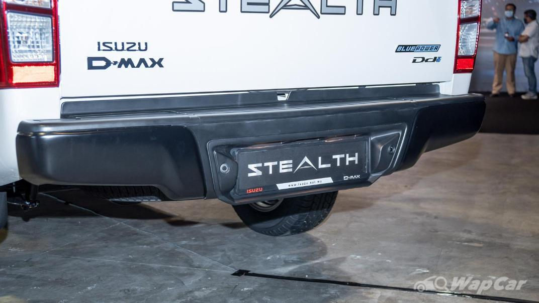 2020 Isuzu D-Max Stealth 1.9L 4×4 AT Exterior 023