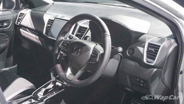 2020 Honda City RS 1.5 Hybrid Interior 005
