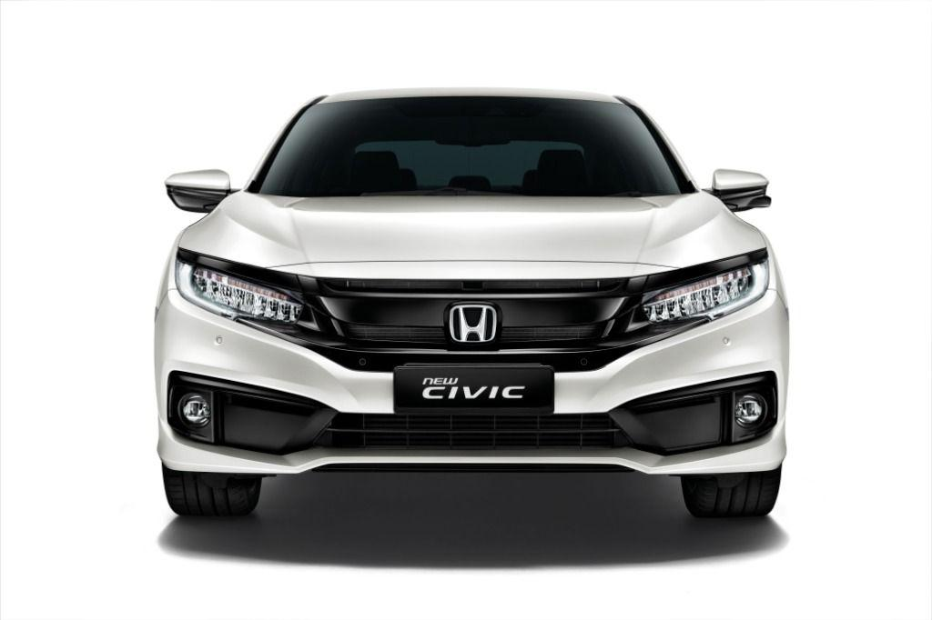 2020 Honda Civic front