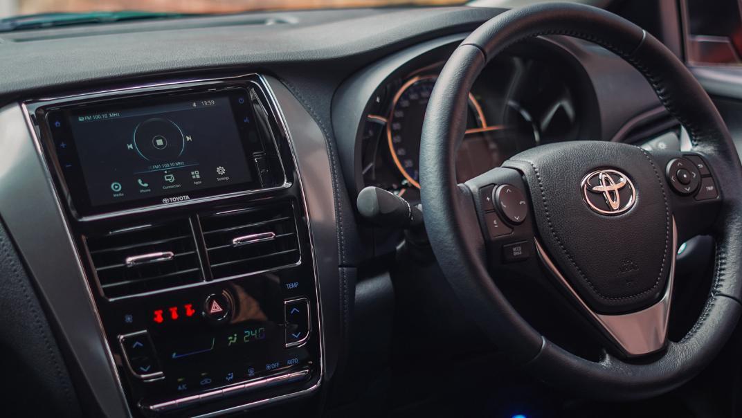 2021 Toyota Vios 1.5E Interior 001