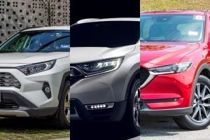 Toyota RAV4 vs Honda CR-V vs Mazda CX-5: Mana pilihan terbaik untuk SUV segmen C?