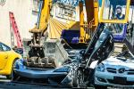 Philippines 'JPJ' destroys rare McLaren 620R with a backhoe. Why though?