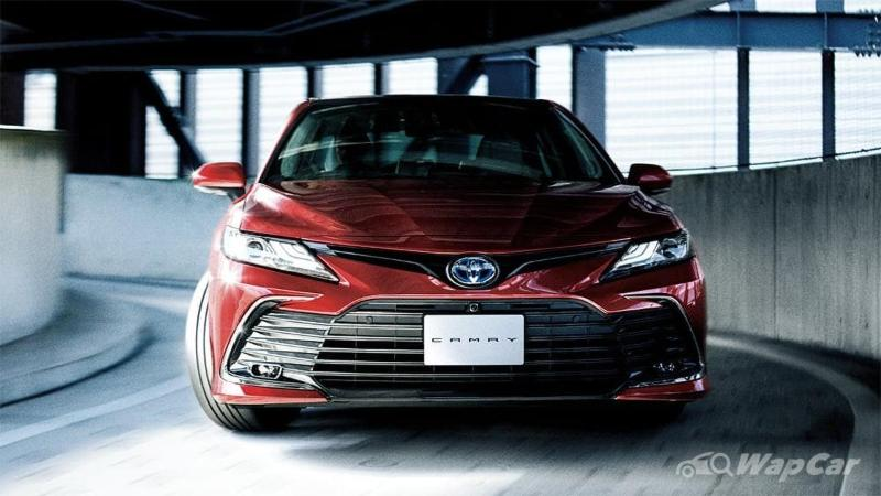New 2021 Toyota Camry facelift launched in Japan: 10 variants, improved TSS ADAS 02