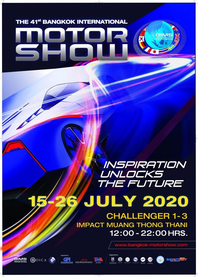 41st 2020 Bangkok International Motor Show date confirmed in July 02