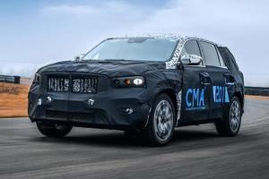 Geely KX11 new flagship SUV will get a passenger display screen like a Porsche Taycan!