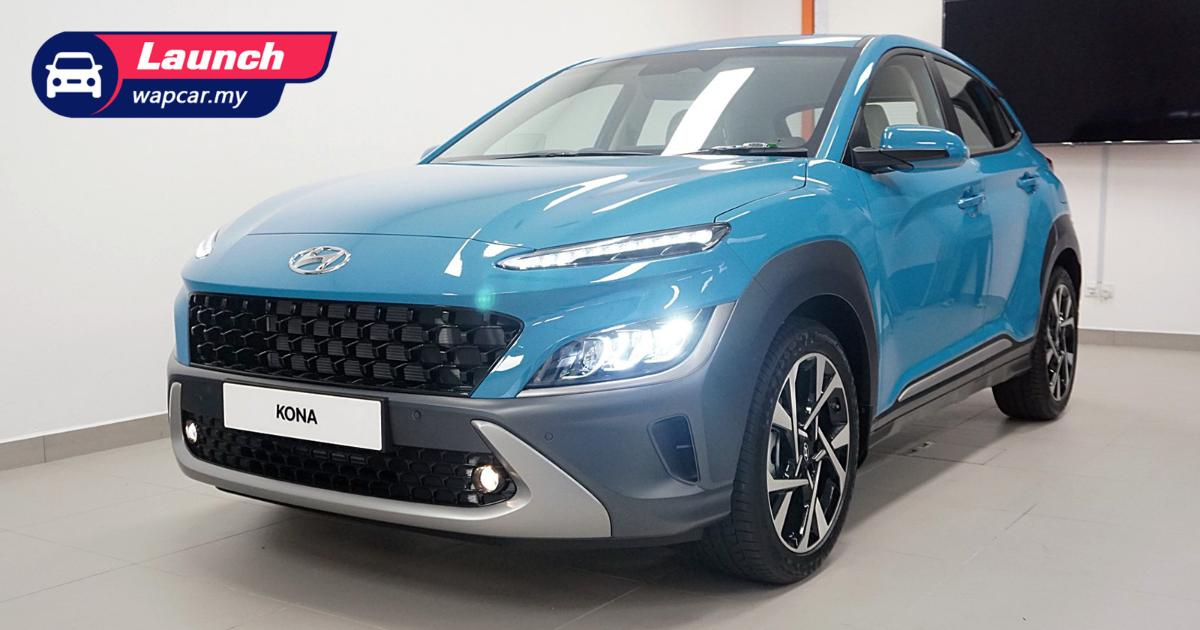 Priced from RM 120k, 2021 Hyundai Kona facelift launched in Malaysia, no turbo for now 01