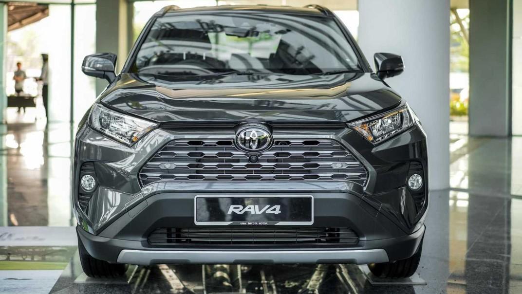 2020 Toyota RAV4 2.5L Exterior 054