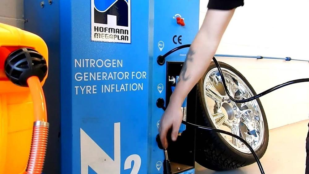 Why is my tyre shop trying to sell me nitrogen gas inflation? 01