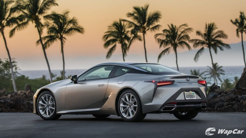 Refreshed 2020 Lexus LC Coupe, lighter and more comfortable 02