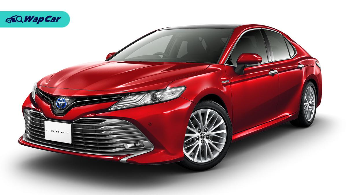 2020 Toyota Camry leads Thailand's D-segment, Honda Accord trails closely 01