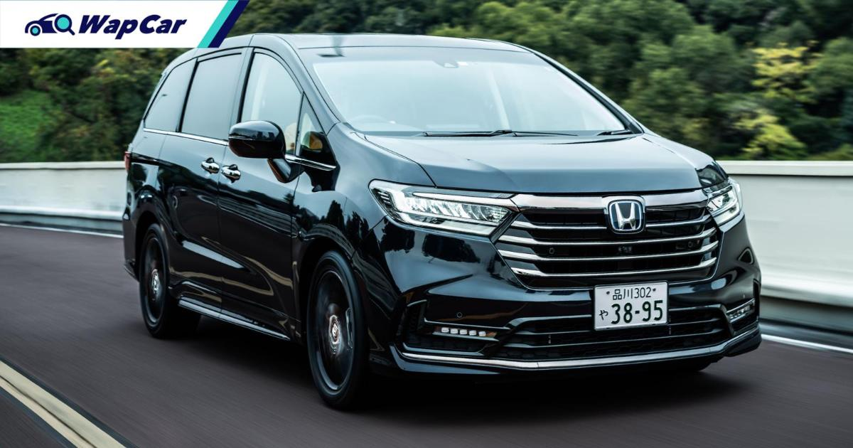 Honda Odyssey facelift with Star Wars tech coming to Malaysia in 2021 01