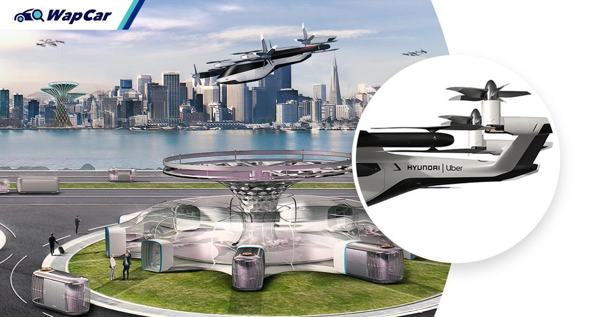 Sorry Malaysia, looks like Korea will beat us to the race for flying cars with Hyundai 01