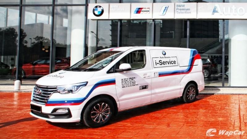 Auto Bavaria i-Service vehicle