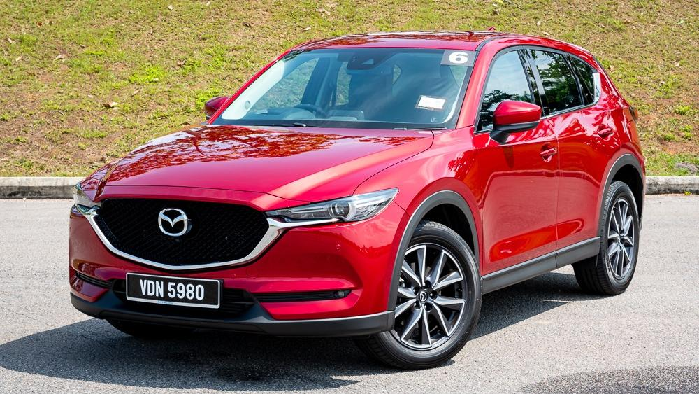 2019 Mazda CX-5 2.5L TURBO Exterior 002