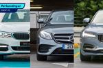 BMW 5 Series vs Mercedes-Benz E-Class vs Volvo S90 – mana paling berbaloi?