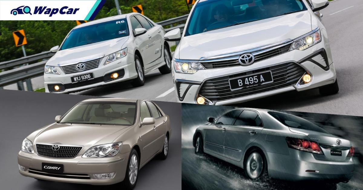 Buying a used Toyota Camry? Priced from RM 20k, here's what you need to know 01