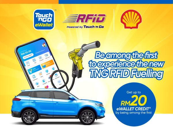 Pay for fuel with your RFID tags! TNG and Shell kicks off RFID fueling pilot programme 02