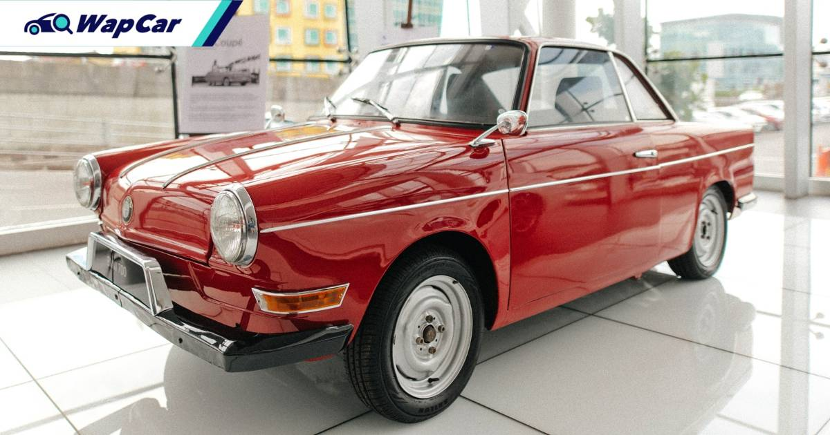 BMW dealer presents rare BMW 700 Coupe in Kuching 01