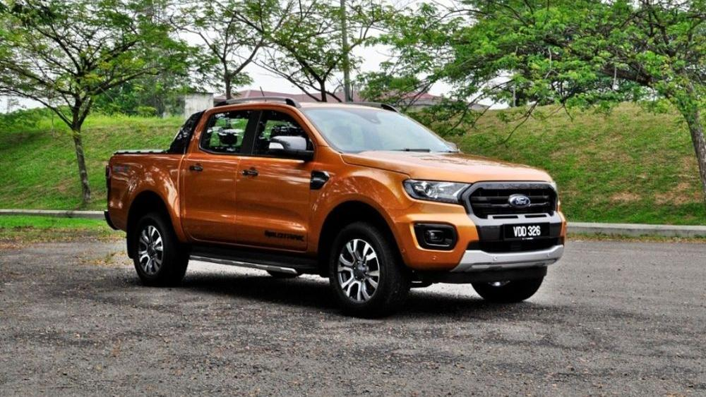 2018 Ford Ranger 2.0 Bi-Turbo WildTrak 4x4 (A) Exterior 003