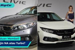 Panduan Membeli: Honda Civic 1.8 atau 1.5 Turbo?