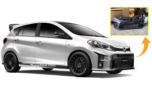 Can't afford a GR Yaris? Then grab this GR bodykit for your Perodua Myvi!