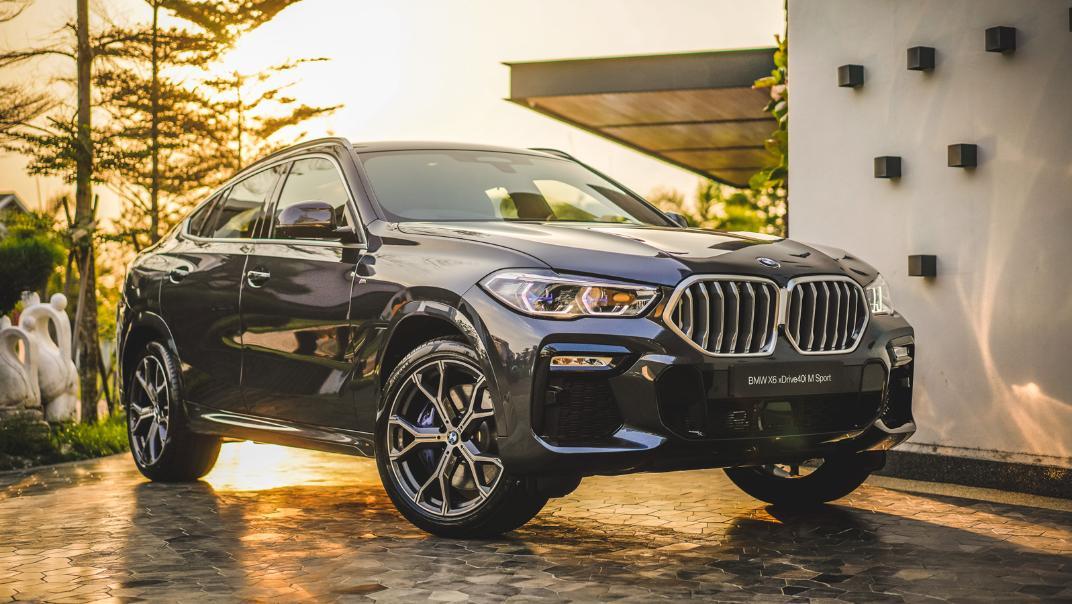 2020 BMW X6 xDrive40i M Sport Exterior 001