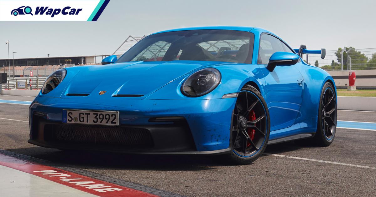 2021 (992) Porsche 911 GT3 available for pre-order in Malaysia; 510 PS, 6:59 Nurburgring lap time 01