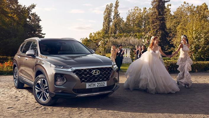 Hyundai Santa Fe (2019) Exterior 007